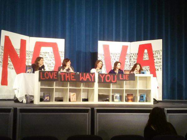 NoVa Teen Book Festival Panel with Melissa Marr, Maggie Hall, Rachel Hawkins, and Marie Rutkoski
