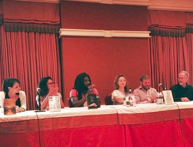 ALA 2014 with S.E. Green, Jason Reynolds, C.J. Flood, Brendan Kiely, and Scott Westerfeld