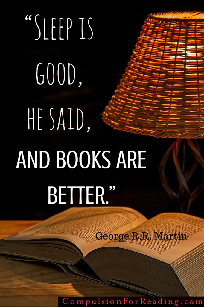 Sleep is good, and books are better