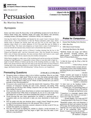 Persuasion Learning Guide