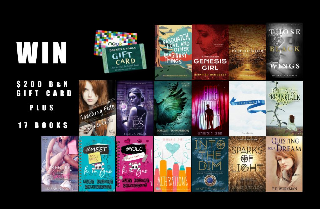 Win $200 Barnes & Noble Gift Card plus 17 YA Books